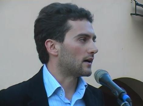 Apericena per Progetto Dozza in piazza Zotti il 17 maggio 2014 (include l'intervento di Luca Albertazzi)
